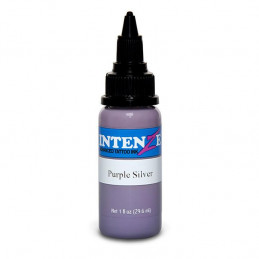 Intenze Ink Purple Silver, 29ml Tattoofarbe Intenze Ink Intenze Single Colors Tattoobedarf