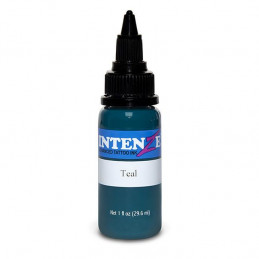 Intenze Ink Teal, 29ml Tattoofarbe Intenze Ink Intenze Single Colors Tattoobedarf