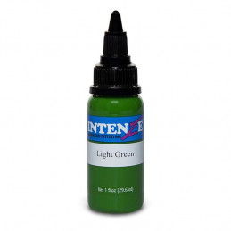 Intenze Ink Light Green, 29ml Tattoofarbe Intenze Ink Intenze Single Colors Tattoobedarf