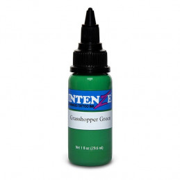 Intenze Ink Grashopper Green, 29ml Tattoofarbe Intenze Ink Intenze Single Colors Tattoobedarf