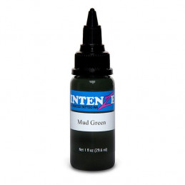 Intenze Ink Mud Green, 29ml Tattoofarbe Intenze Ink Intenze Single Colors Tattoobedarf