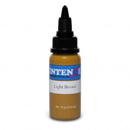Intenze Ink Light Brown, 29ml Tattoofarbe Intenze Ink Intenze Single Colors Tattoobedarf