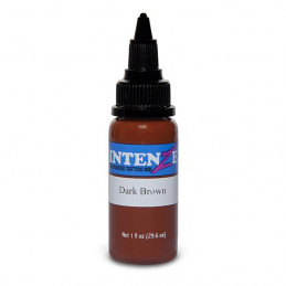 Intenze Ink Dark Brown, 29ml Tattoofarbe Intenze Ink Intenze Single Colors Tattoobedarf