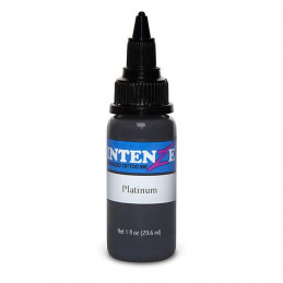 Intenze Ink Platinum, 29ml Tattoofarbe Intenze Ink Intenze Single Colors Tattoobedarf