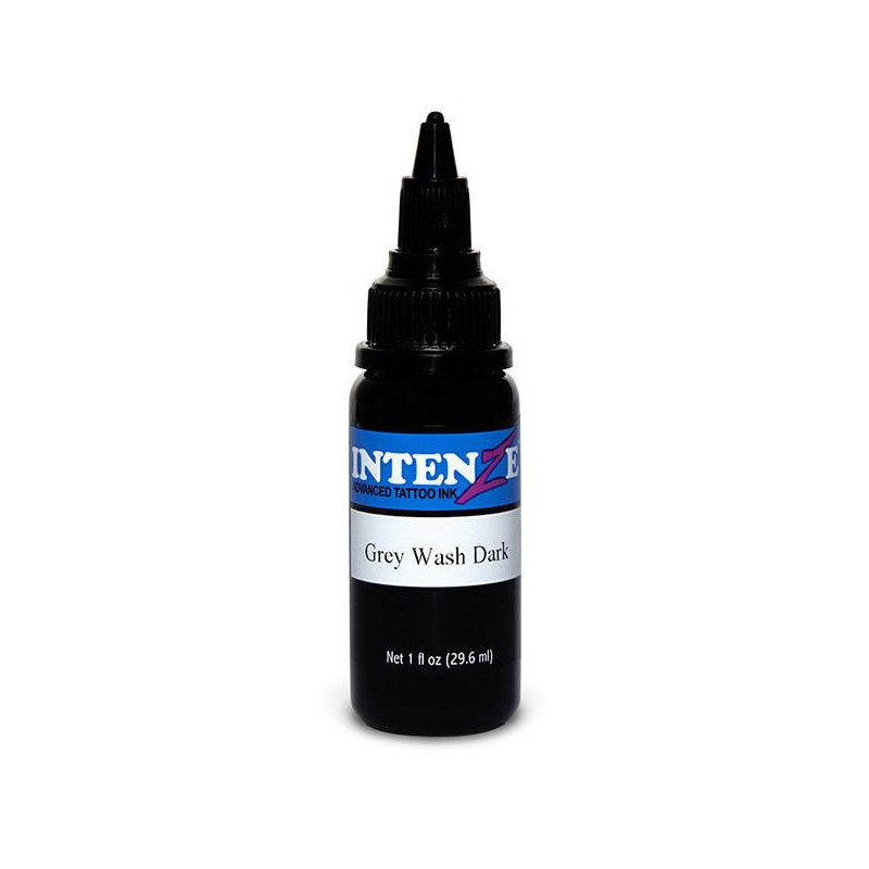 Intenze Ink Gray Wash Dark, 29ml Tattoofarbe Intenze Ink Intenze Single Colors Tattoobedarf