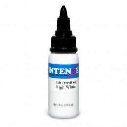 Intenze High White - Bob Tyrrell, 29ml Tattoofarbe Intenze Ink Intenze Bob Tyrrell Tattoobedarf