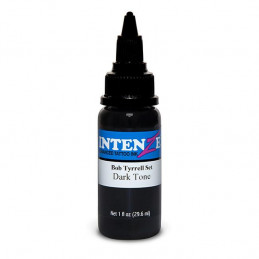 Intenze Dark Tone - Bob Tyrrell, 29ml Tattoofarbe Intenze Ink Intenze Bob Tyrrell Tattoobedarf