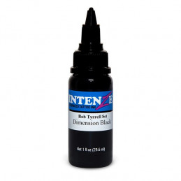 Intenze Dimension Black - Bob Tyrrell, 29ml Tattoofarbe Intenze Ink Intenze Bob Tyrrell Tattoobedarf