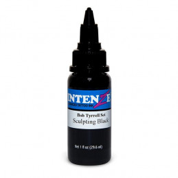 Intenze Sculpting Black - Bob Tyrrell, 29ml Tattoofarbe Intenze Ink Intenze Bob Tyrrell Tattoobedarf