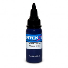 Intenze Ocean Blue - Boris from Hungary, 29ml Tattoofarbe Intenze Ink Intenze Boris Tattoobedarf