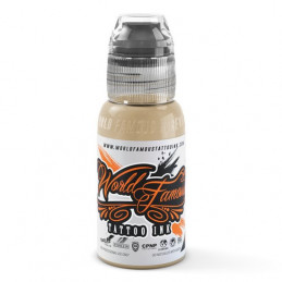 World Famous Ink - Taj Mahal, 29ml Tattoofarbe *MHD 06/2020* World Famous Ink Braun & Skintone Tattoobedarf