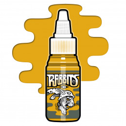 Rabbits - Jens Amhäuser´s Gold 13, 35 ml Tattoofarbe  Rabbits Ink SALE% Tattoobedarf