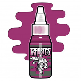 Rabbits - Karsten Koch´s Basic Magenta, 35 ml Tattoofarbe  Rabbits Ink SALE% Tattoobedarf