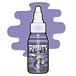 Rabbits - Robi Pena´s Bright Violet, 35 ml Tattoofarbe  Rabbits Ink SALE% Tattoobedarf