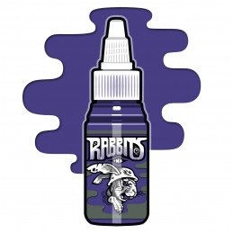 Rabbits - Robi Pena´s Dark Violet, 35 ml Tattoofarbe  Rabbits Ink SALE% Tattoobedarf