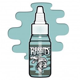 Rabbits - Jens Amhäuser´s Turquoise Chill 13, 35 ml Tattoofarbe  Rabbits Ink SALE% Tattoobedarf