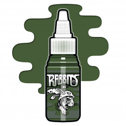 Rabbits - McCormacks Irish Moss Green, 35 ml Tattoofarbe  Rabbits Ink SALE% Tattoobedarf