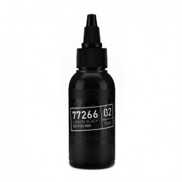 Carbon Black -Sumi 02- Tattoofarbe 50ml H.A.N. Carbon Black 50ml Tattoobedarf