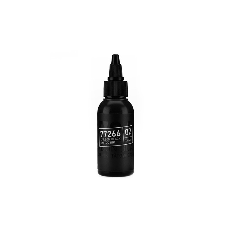 Carbon Black -Sumi 02- Tattoofarbe 50ml H.A.N. Carbon Black 50ml Tattoobedarf