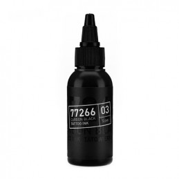 Carbon Black -Sumi 03- Tattoofarbe 50ml H.A.N. Carbon Black 50ml Tattoobedarf
