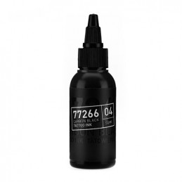 Carbon Black -Sumi 04- Tattoofarbe 50ml H.A.N. Carbon Black 50ml Tattoobedarf