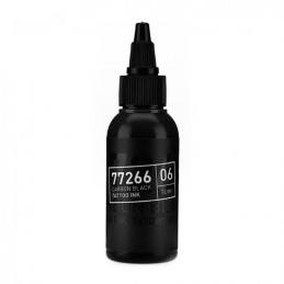Carbon Black -Sumi 06- Tattoofarbe 50ml H.A.N. Carbon Black 50ml Tattoobedarf