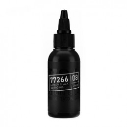 Carbon Black -Liner 08- Tattoofarbe 50ml H.A.N. Carbon Black 50ml Tattoobedarf