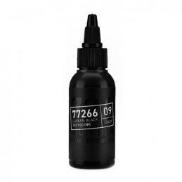 Carbon Black -Liner 09- Tattoofarbe 50ml H.A.N. Carbon Black 50ml Tattoobedarf