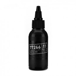 Carbon Black -Filler 11- Tattoofarbe 50ml H.A.N. Carbon Black 50ml Tattoobedarf