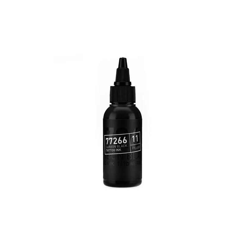 Carbon Black -Filler 11- Tattoofarbe 50ml H.A.N. Carbon Black 50ml Tattoobedarf