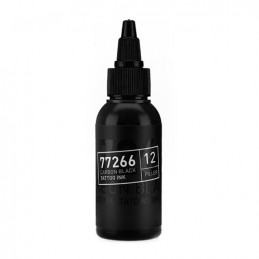 Carbon Black -Filler 12- Tattoofarbe 50ml H.A.N. Carbon Black 50ml Tattoobedarf
