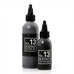 Carbon Black - Blackout 13 - 50ml Tattoofarbe H.A.N. Carbon Black 50ml Tattoobedarf
