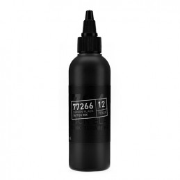 Carbon Black -Filler 12- Tattoofarbe 100ml H.A.N. Carbon Black 100ml Tattoobedarf
