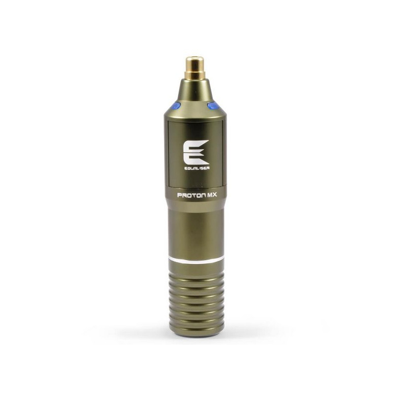 Proton Equaliser MX Tattoo Pen, army green Equaliser by Kwadron Sortiment Tattoobedarf