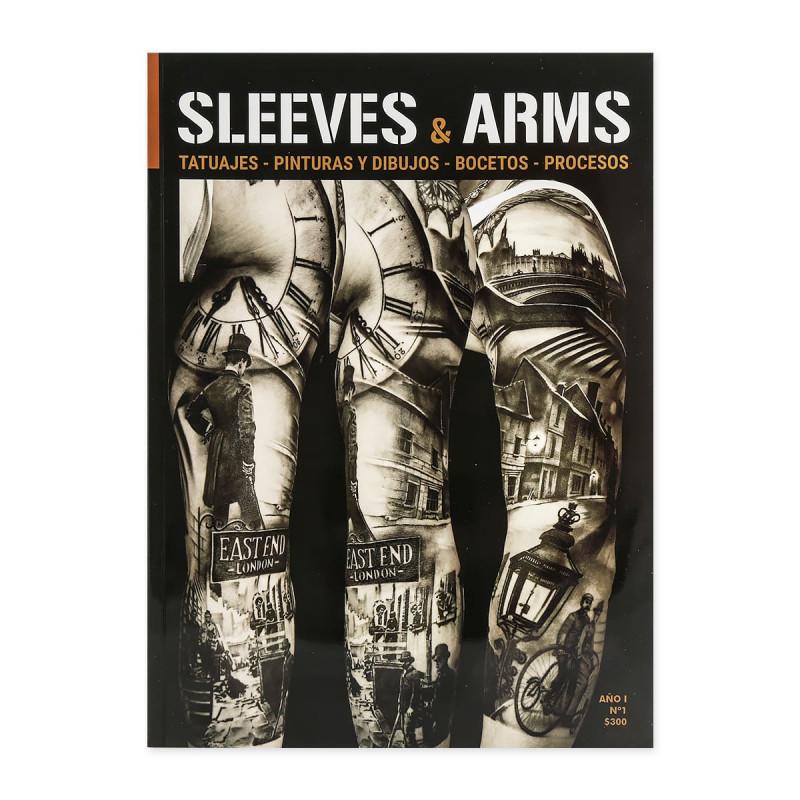 Sleeves & Arms - Tattoos - Gemälde und Zeichnungen - Skizzen - Prozesse  Bücher Tattoobedarf