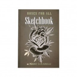 Roses for all - Sketchbook von Nano Lucarelli  Bücher / DVDs Tattoobedarf