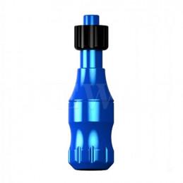 Elite Griffstück 25mm, einstellbar, blau Elite Griffe für Nadelmodule Tattoobedarf