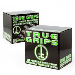 25er Box True Grip Cover glatt  True Grips Cover Tattoobedarf