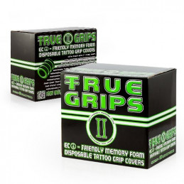 25er Box True Grip Cover geriffelt  True Grips Cover Tattoobedarf
