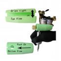 Schutzgummi für Tattomaschinen, grün