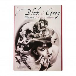 Black & Grey Vol. 3 - Zeichnungen und Skizzen  Bücher / DVDs Tattoobedarf