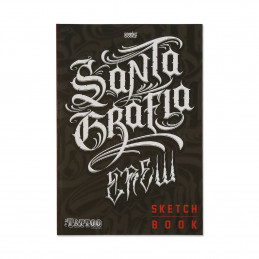 Santa Grafia Crew - Sketchbuch  Bücher / DVDs Tattoobedarf