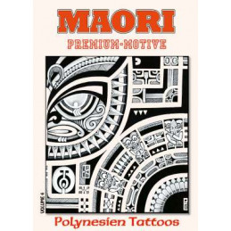 Maori Premium-Motive - Polynesien Tattoos - Volume 4 - Softcover  Bücher / DVDs Tattoobedarf