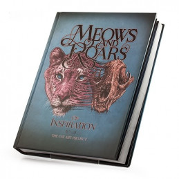 Meows & Roars of Inspiration: The Cat Art Project, Buch  Bücher Tattoobedarf