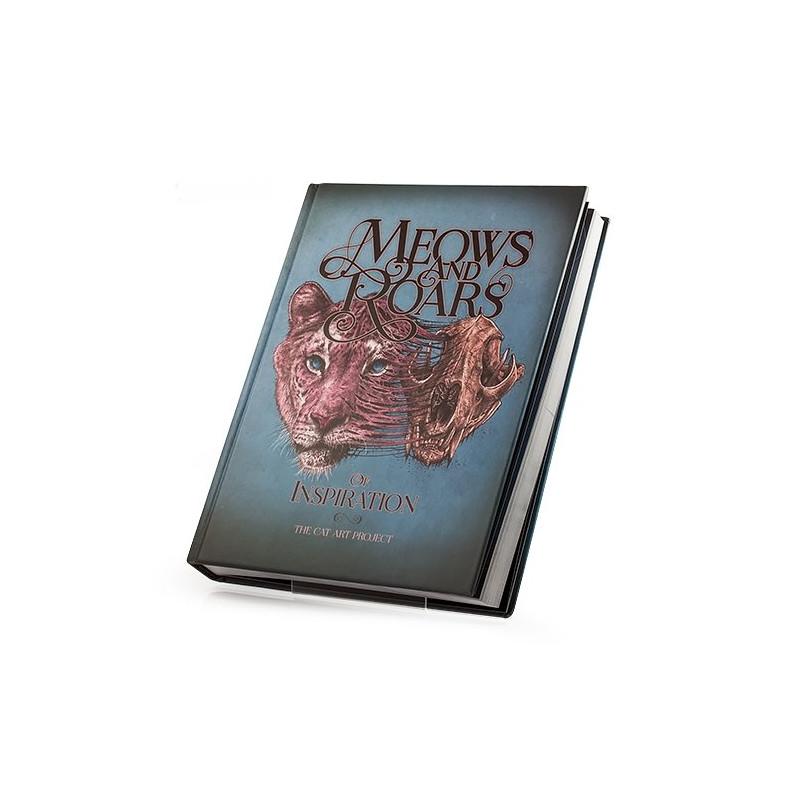Meows & Roars of Inspiration: The Cat Art Project, Buch  Bücher Tattoobedarf