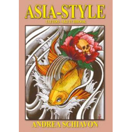Asia Style - Tattoo Sketchbook, Buch  Bücher Tattoobedarf