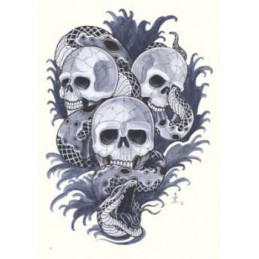 Asia Style - Tattoo Sketchbook, Buch  Bücher / DVDs Tattoobedarf