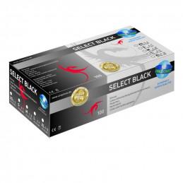 Select Black Latex Handschuhe, Unigloves, 100 Stück Unigloves Handschuhe Tattoobedarf