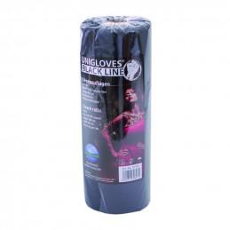 Liegenauflagen schwarz, 20 Stück auf Rolle, Unigloves Unigloves Verbrauchsartikel Tattoobedarf