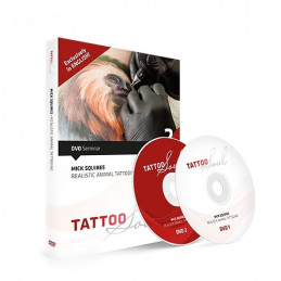 Mick Squires - Realistic Animal Tattooing, DVD  Bücher / DVDs Tattoobedarf
